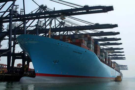 The Emma Maersk 06
