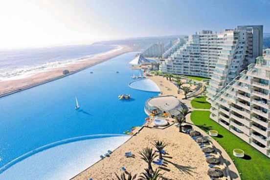 اكبر مسبح بالعالم موجود في شيلي