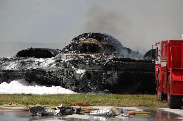 B-2 Bomber Crash
