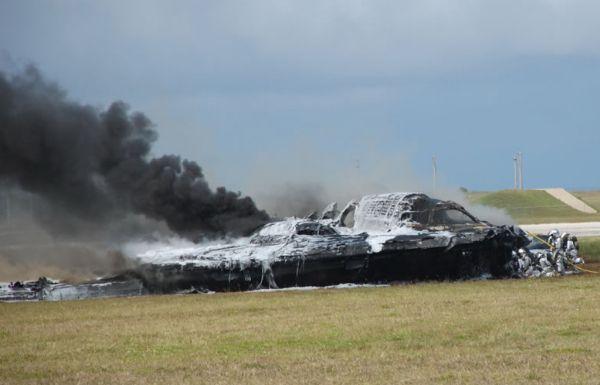 B-2 Bomber Crash 1
