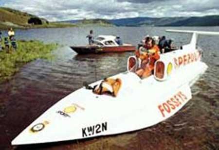 Fastest  Boat - The Spirit of Australia