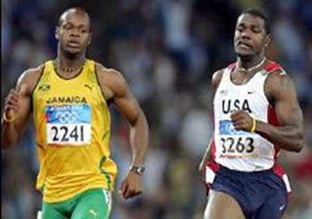 Fastest  Man - Justin Gatlin & Asafa Powell