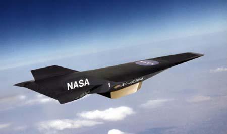 Fastest  Plane - X-43 Aircraft