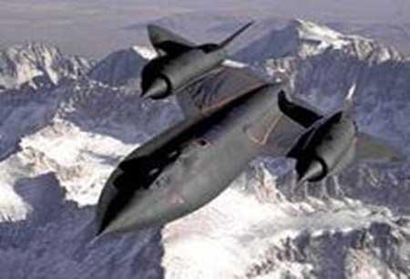 Fastest  Plane - The Lockheed SR-71 Blackbird