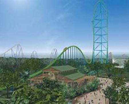 Fastest Roller Coaster - Kingda Ka