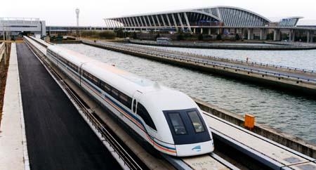 Fastest  Train - Shanghai Maglev Train
