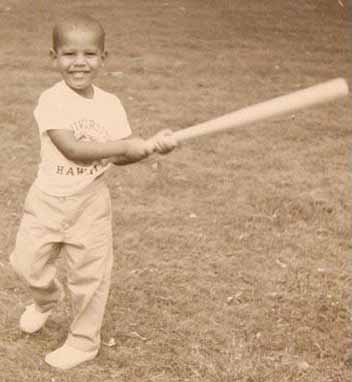 Barack Obama at the Age of 2-3 Years