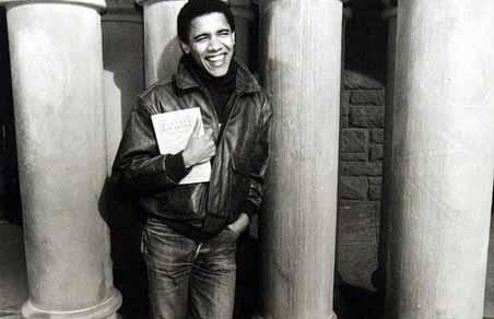 Barack Obama in Harvard