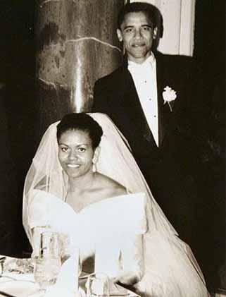 Barack Obama's Marriage Photo