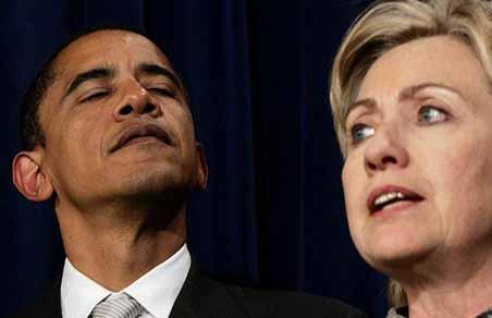 Barack Obama & Hillary Clintion