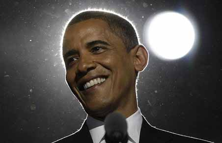 Barak Obama (The President of USA)