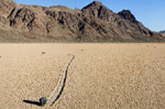Mysterious Sailing Stones of death valley