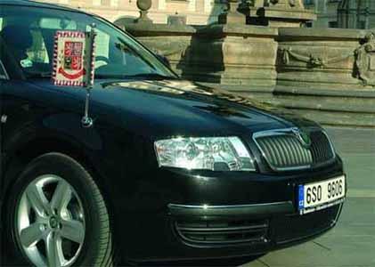 President Car Czech Republic - Skoda