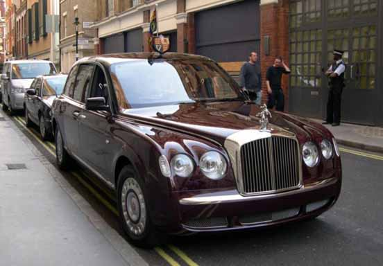 President Car England - Bentley
