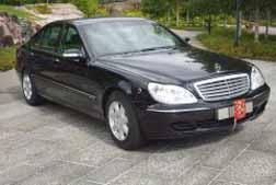 President Car Finland - Mercedes s600l