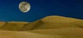 Moon is one million times drier than Gobi Desert