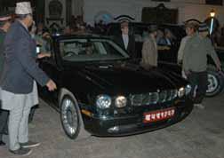 President Car Nepal - Jaguar
