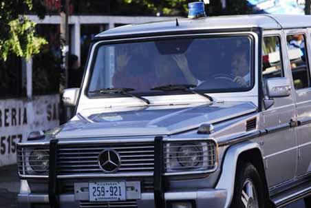President Car Nicaragua - Mercedes