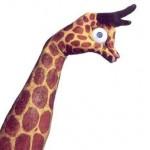 Painted Hands - Giraffe