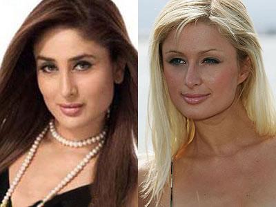 Kareena Kapoor and Paris Hilton