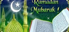Ramadan – the month of blessings, forgiveness and fasting