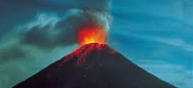 540 volcanoes on land are known