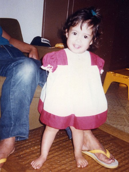 Jessica Cox - child photo