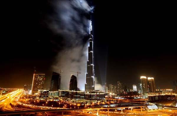 Burj Khalifa - night view