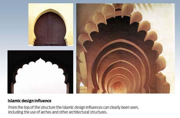 burj islamic design influence