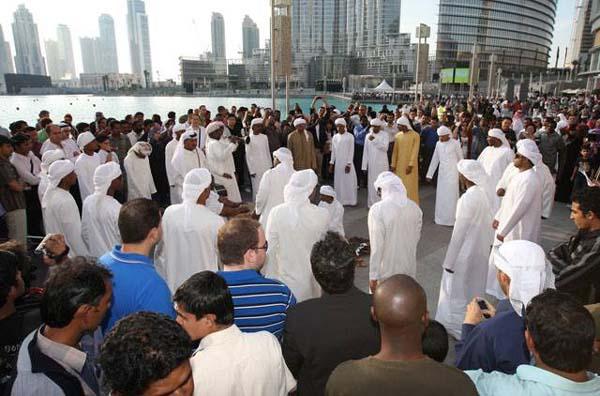 burj opening ceremony