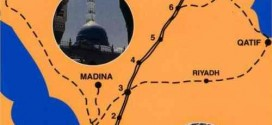Route of Imam Hussain AS from Makkah to Karbala