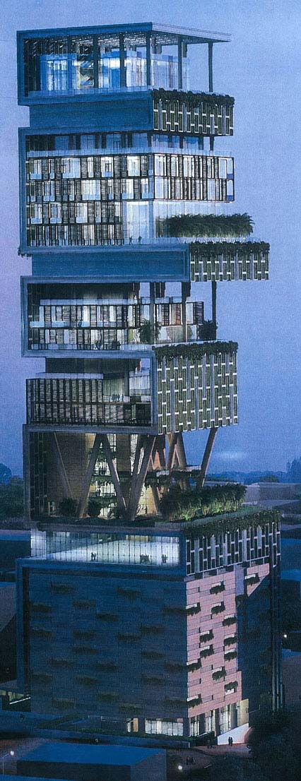Mukesh Ambani house - Antilla