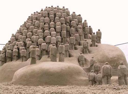 famous sand sculptur