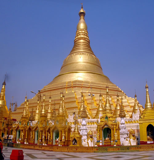 Shwedagon Paya or Pagoda