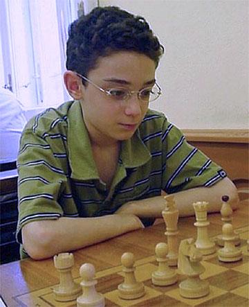 Fabiano Caruana young age