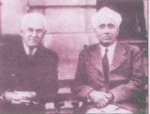 Raman and R.A.Millikan