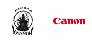 Canon logo old vs new