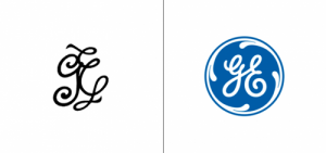 General Electric logo old vs new