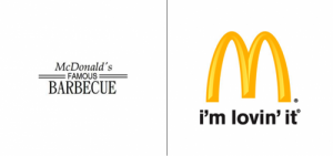 McDonald's logo old vs new