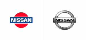 Nissan logo old vs new