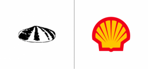 Shell logo old vs new