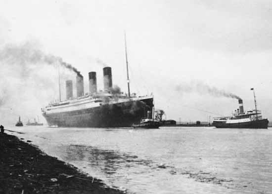 real titanic