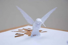 Paper cutting art Using One Piece of Paper