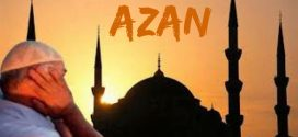 Azan – muslim call to prayer times