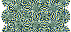 Optical illusion – Which are rotating?